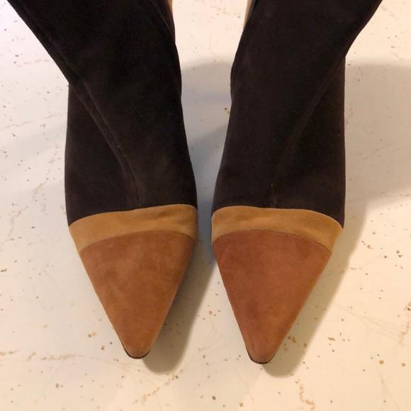 ANTONIO MELANI Shoes - ANTONIO MELANI SUEDE MULTI COLOR BOOTIES SZ 9